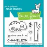 Lawn Fawn - One In A Chameleon - Clear Stamps 2x3