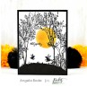 """Picket Fence Studios - On An Autumn Countyside - Clear Stamps 6x6"""""""