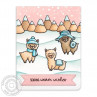 Sunny Studio - Alpaca Holiday - Clear Stamps 4x6
