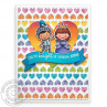 Sunny Studio - Banner Basics - Clear Stamps 4x6
