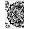Crafter's Companion - Magnificent Mandalas - 4x6 Clear Stamp Set