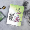 Create A Smile - Erhol dich gut - Clear Stamps 2x3