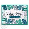 Sunny Studio - Elegant Leaves - Clear Stamps 4x6