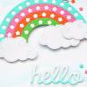 Heffy Doodle - Starry Rainbow - Stand Alone Stanzen