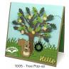 Karen Burniston - Tree Pop-Up Stanzen