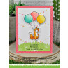 Lawn Fawn - really high five - Clear Stamp 4x6