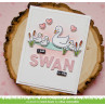 Lawn Fawn - swan soirée - Clear Stamp 4x6