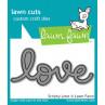 lawn fawn lawn cuts die scripty love