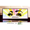 Picket Fence Studios -  Slim Line Rising Sun - Slimline Schablone