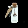 Eydl Wood Jewelry - Schutzengel - Aquamarin